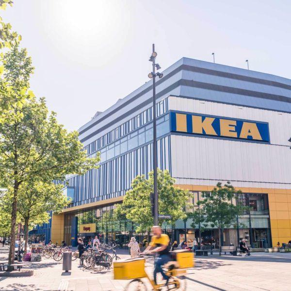 Langzeitbelichtung Tagsüber für IKEA in Hamburg