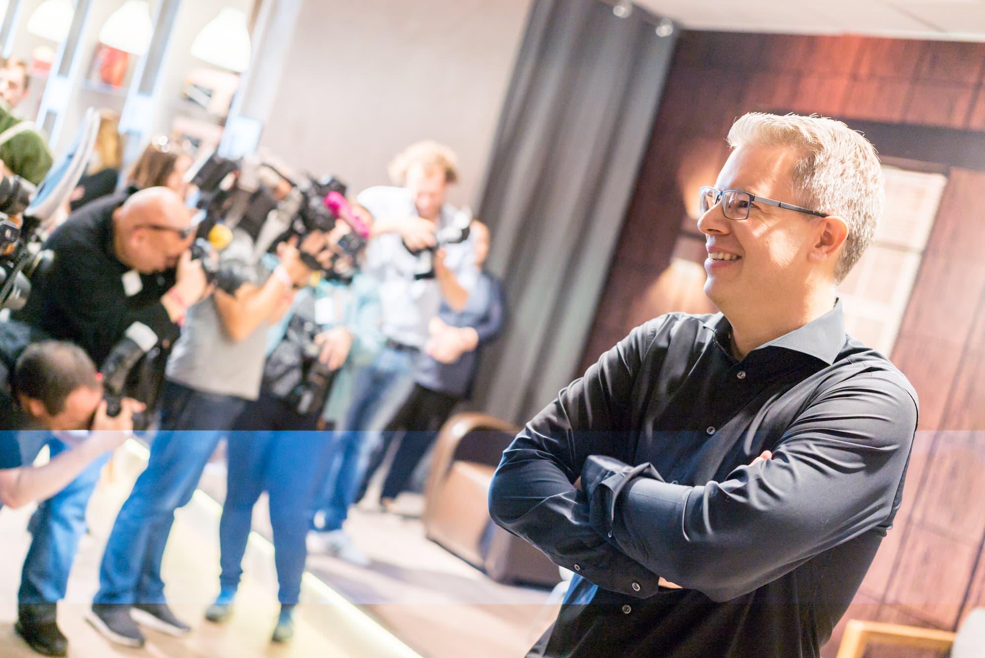 Fotograf Frankfurt Eventfotografie Pressekonferenz Höhle der Löwen