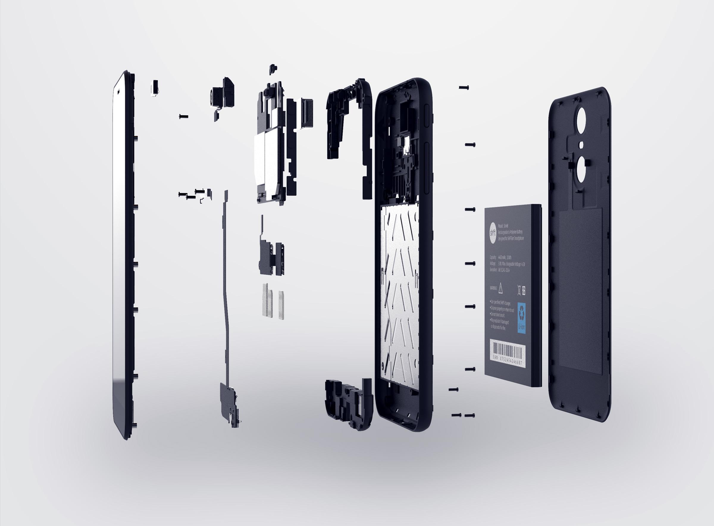 Smartphone nachhaltig SHIFT6m