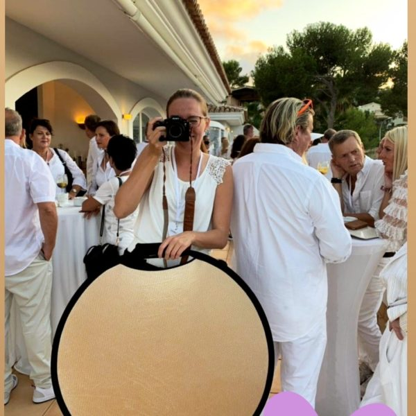behind-the-scenes von Fotoshooting in Mallorca